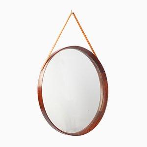 Specchio in teak, Danimarca, anni '60