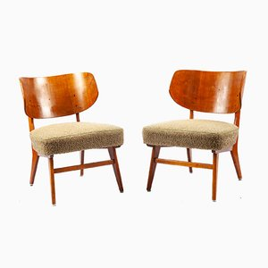 Easy Chairs by Herta-Maria Witzemann for Schörle & Gölz, 1950s, Set of 2