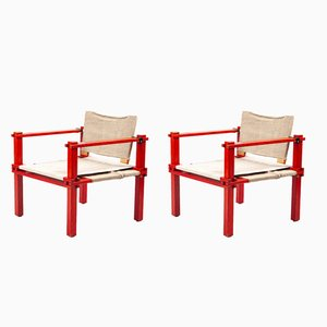Farmer Stühle von Gerd Lange für Bofinger, 1960er, 2er Set