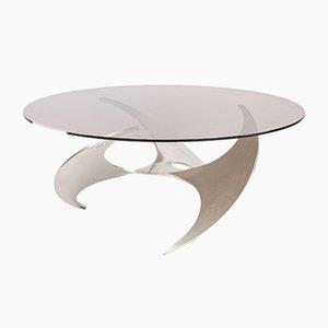 Tavolino da caffè K9 Propeller di Knut Hesterberg per Ronald Schmitt, anni '60