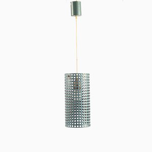 Perforated Metal Pendant Lamp, 1960s