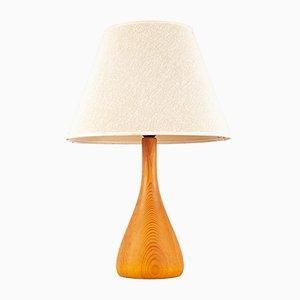 Dänische Tischlampe aus Teak, 1960er