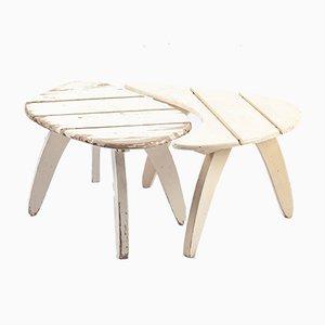 Tavolini Organic Côte d'Azur di Rausch, anni '60, set di 2