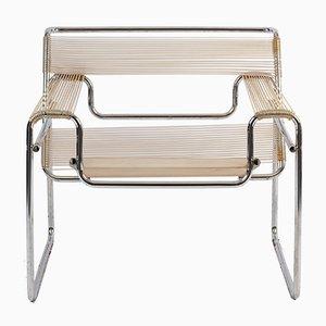 Wassily Chair mit Spaghetti-Sitz von Marcel Breuer für Knoll International, 1970er