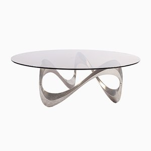 Snake Coffee Table by Knut Hesterberg for Ronald Schmitt, 1960s