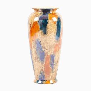 Vaso grande multicolore di Scheurich, anni '60