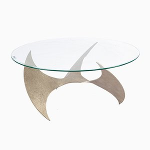 Kleiner Propeller Tisch von Knut Hesterberg für Ronald Schmitt, 1960er
