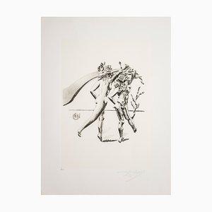 Serigrafia Danza di Salvador Dalì per Istituto Grafico Italiano, 1983