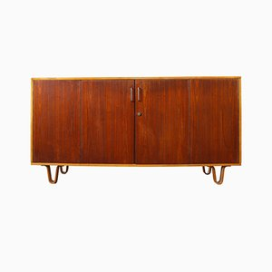 Vintage DB02 Birch and Teak Sideboard by Cees Braakman for Pastoe Combex