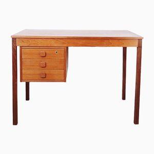 Danish Teak Desk from Domino Møbler, 1960s