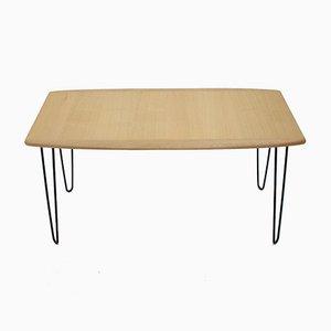 Table Basse en Chêne, 1960s