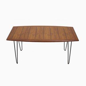 Tavolino da caffè in teak, anni '60