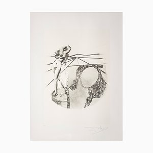 Sérigraphie Pittura par Salvador Dalì pour Istituto Grafico Italiano, 1983