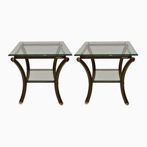 Tables d'Appoint Vintage par Pierre Vandel, 1970s, Set de 2