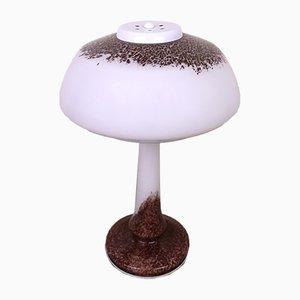 German Colored Glass Table Lamp from Schmöger Leuchten, 1970s