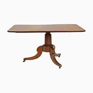 Antique Regency Mahogany Tilt Top Table, 1825