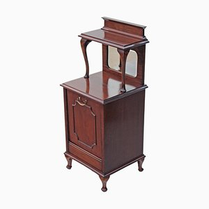 Antique Mahogany Perdonium Cupboard