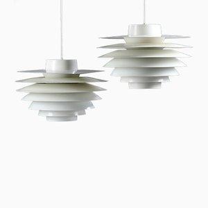 Lampe à Suspension Verona par Sven Middelboe pour Nordisk Solar, 1960s