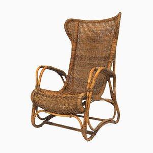 Rattan Orangerie Chair by Ida Falkenberg-Liefrinck, 1930s