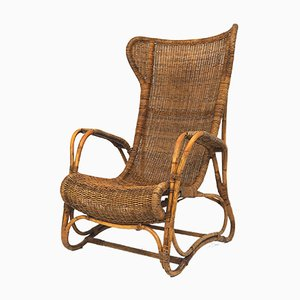 Vintage Rattan Orangerie Chair from Lang & zn