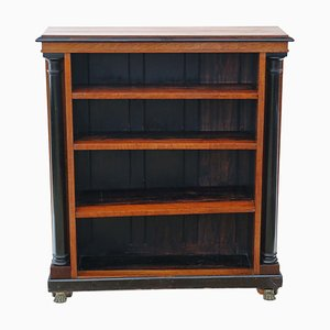 Antique Victorian Adjustable Bookcase