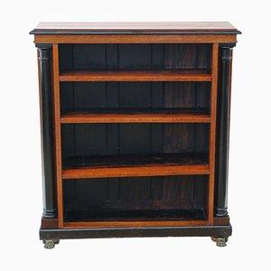 Verstellbares antikes viktorianisches Bücherregal