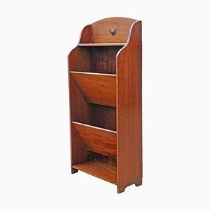 Vintage Mahogany Bookcase, 1920s