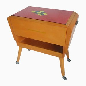 Vintage Sewing Trolley Table by Gustav Otto KG, 1960s