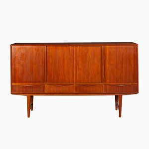 Vintage Danish Highboard by E. W. Bach for Sejling Stolefabrik