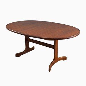 Tavolo da pranzo ovale Mid-Century in teak di G Plan