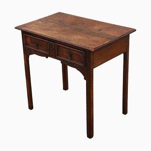 Antiker georgianischer Beistell- oder Schreibtisch, 1800er