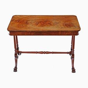 Antiker viktorianischer Tisch aus geflammtem Mahagoni