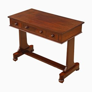 Antique Victorian Mahogany Desk, 1860s