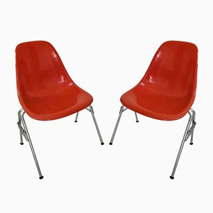 Vintage Beistellstühle von Charles & Ray Eames für Herman Miller, 1960er