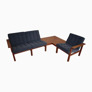 Modular Sofa Set by O. G. Knudsen & T. Lind for France & Son, 1960s