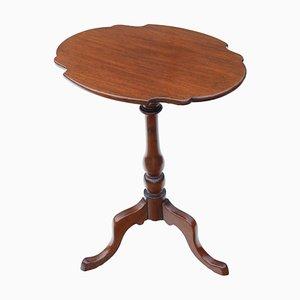 Antiker viktorianischer Tisch aus Mahagoni mit kippbarer Tischplatte, 1850er