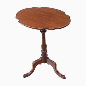 Antique Victorian Mahogany Tilt Top Table, 1850s