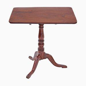 Antique Georgian Elm & Oak Tilt Top Table