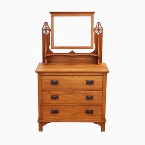 Antique Satinwood Dressing Table, 1910s