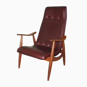 Vintage Armchair by Louis van Teeffelen for WéBé, 1950s