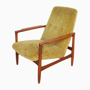 Moss Green Lady's Armchair, 1950s