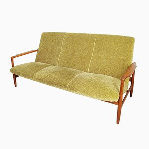 Vintage Moss Green Bench