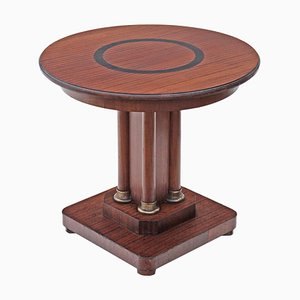 Art Deco Mahogany Side Table, 1920s