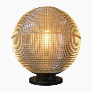 Lampada da tavolo vintage di Holophane, anni '60