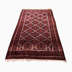 Alfombra de Oriente Medio Mid-Century de lana