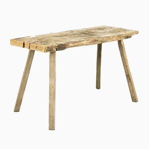 Tavolo da macellaio antico