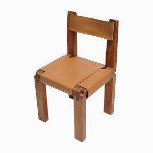 Französischer S11 Stuhl von Pierre Chapo, 1960er