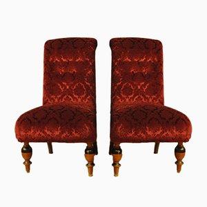 Schwedische Sessel im Art Deco-Stil, 1950er, 2er Set