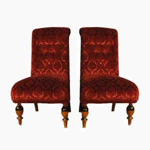 Swedish Art Deco Style Armchairs, 1950s, Set of 2