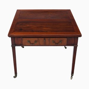 Antique Victorian Mahogany Extendable Dining Table from Gillows